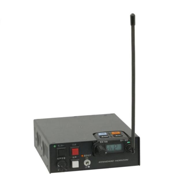 SRFD!M 製品外観 多者間同時通話対応 車載型 特定小電力トランシーバー